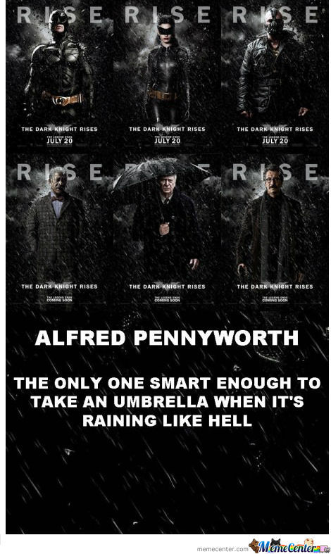 Good 'ol Alfred Pennyworth