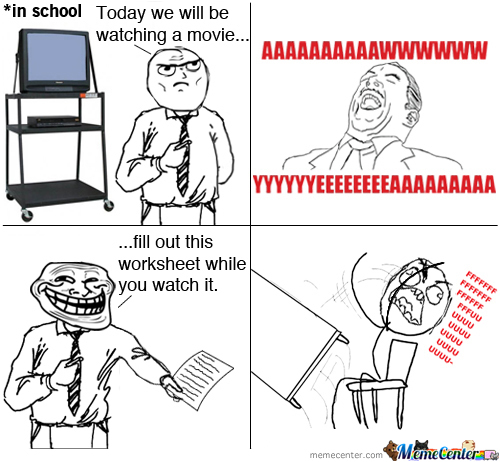 Good Old Fasioned Rage Comic