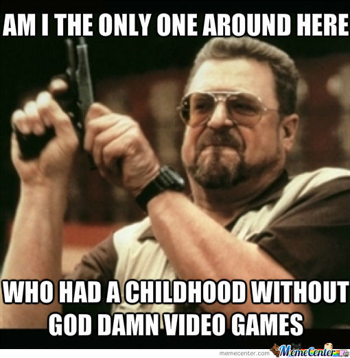 Good Old Times Without Video Games