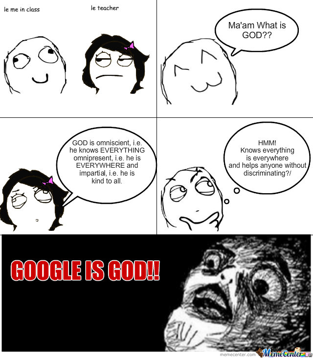 Google Is God!