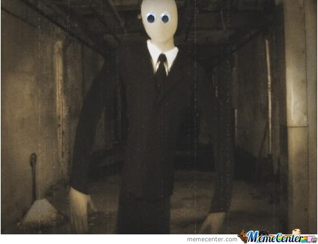 Googly Eye Slenderman