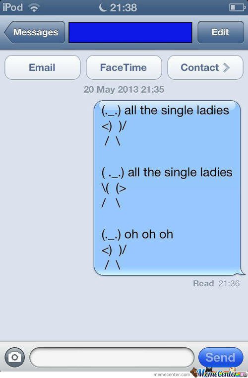 Got Bored And Sent This To My Friend:d