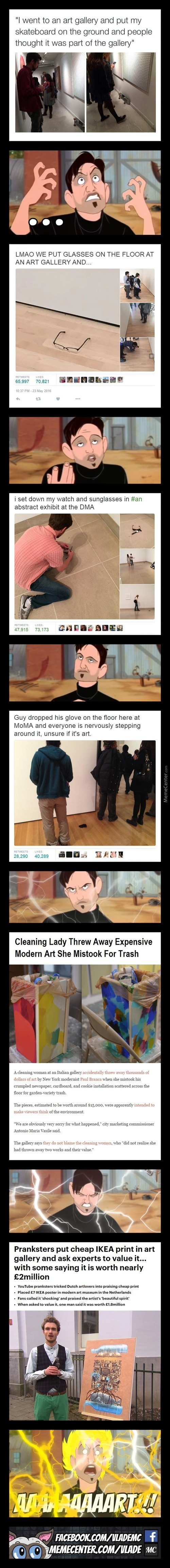 Gotta Love Modern Art, Huh?