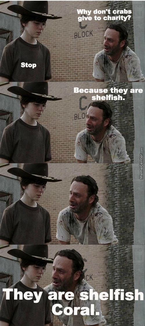 Gotta Love The Walking Dad Jokes