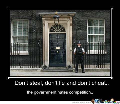 Government Hates Competition :)
