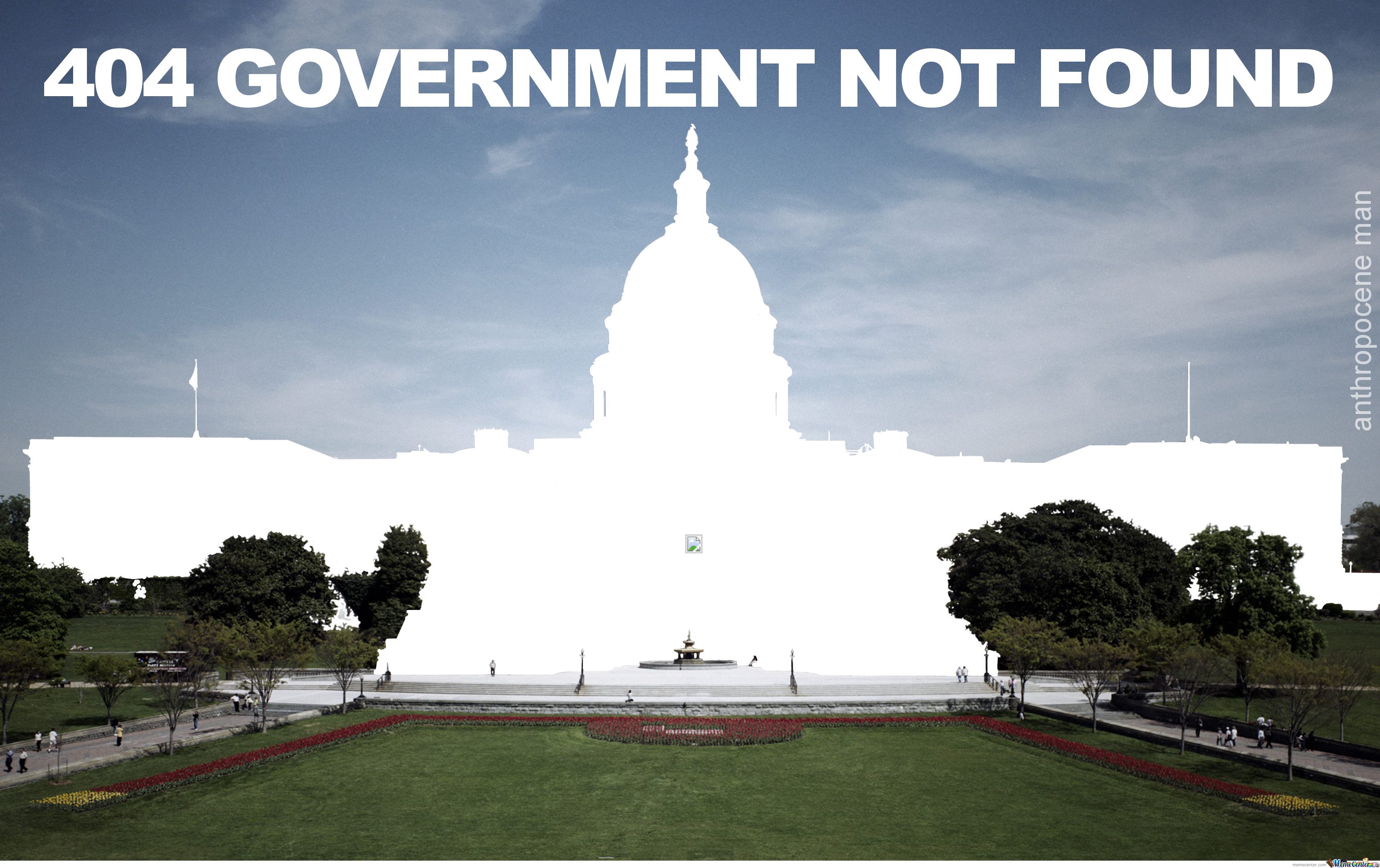 Government Shutdown - Murica 404
