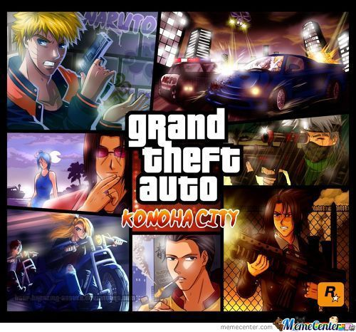 Grand Theft Auto Konoha City
