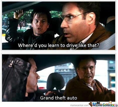 Grand Theft Auto..taken Too Seriously !