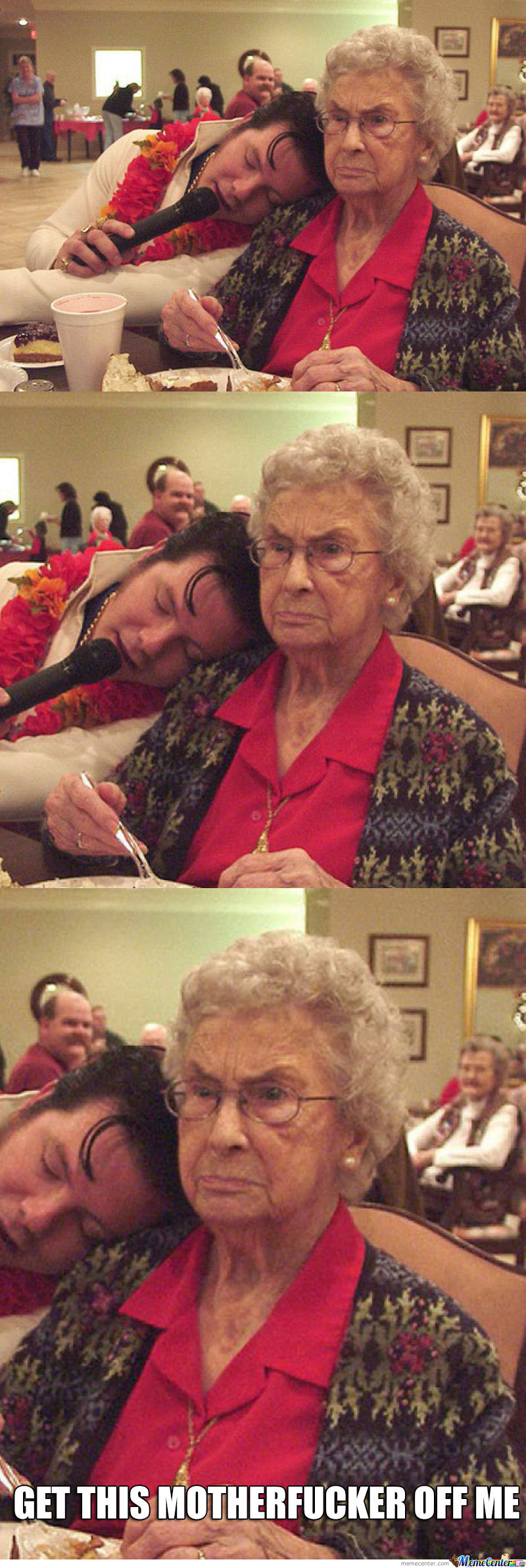 Grandma Is Not Amused