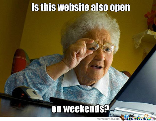 Granny Discovers The Web
