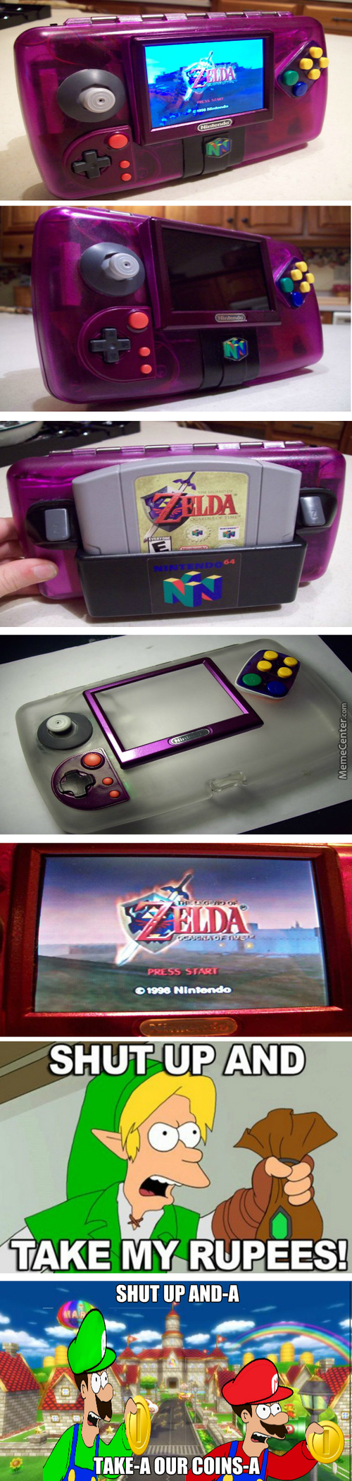 Grape 64, A Portable Nintendo 64