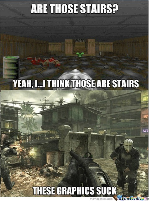 Graphics: Then And Now