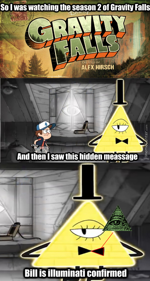 Gravity Falls Hidden Messages