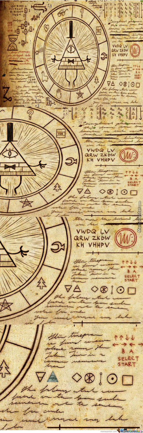 Gravity Falls Illuminati Confurmed!!!!