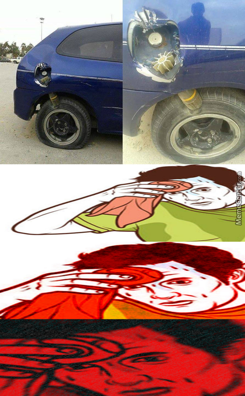Great, Now I Got A Flat Tire! Thanks A Lot, World!