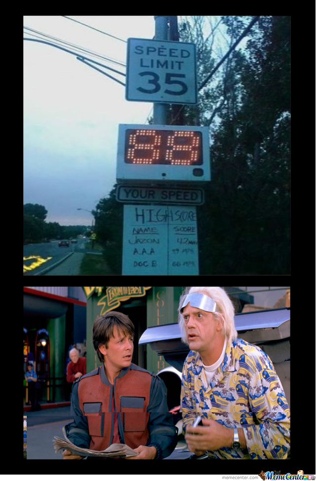 Great Scott Marty! New High Score!
