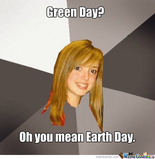 Green Day...