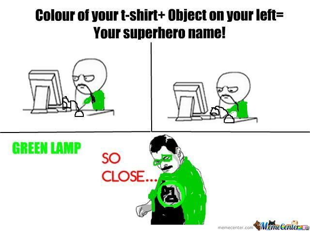 Green Lamp...so Close