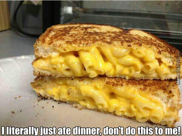 Grilled Cheese Stuffed With Mac'n Cheese. by getmahbread ...