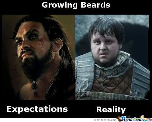 Growing Beards