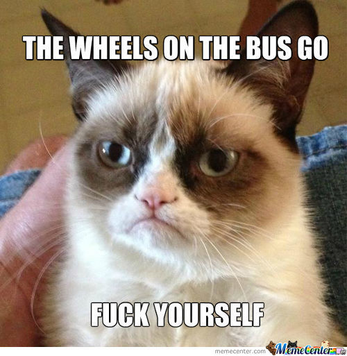 Grumpy Cat's Bus