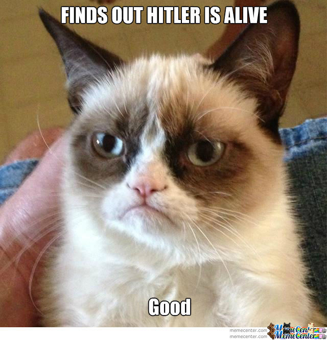 Grumpy Cat And Hitler