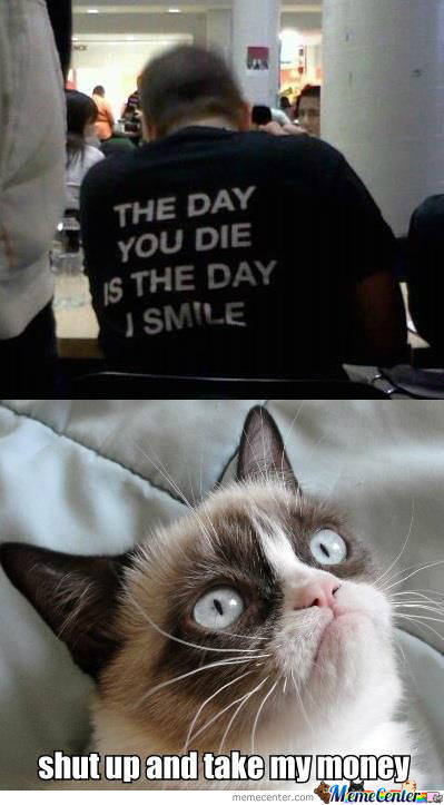 Grumpy Cat Is Amazed