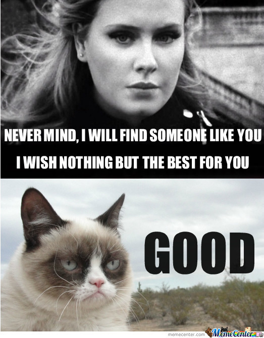 Grumpy Cat Says Good! by evilrage - Meme Center