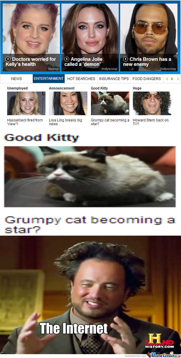 Grumpy Cat = Star?