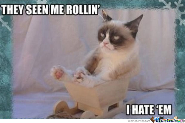 Grumpy Cat Strikes Again..