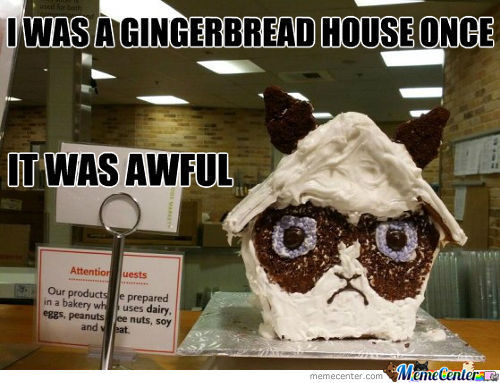 Funny Memes About House: Gingerbread Man Memes. Best Collection Of Funny