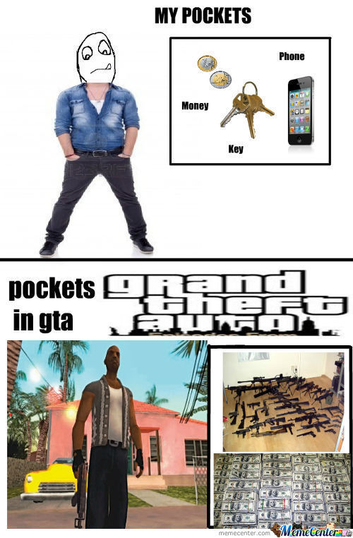 Gta And Real Life
