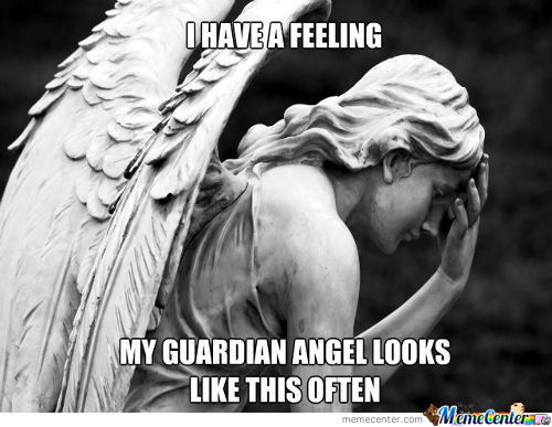 Guardian Angel Facepalm