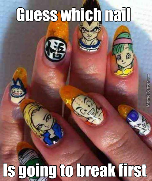 Guess We Have To Chop Off 3 Of Her Fingers. It's 7 Not 10 Dragonballs.