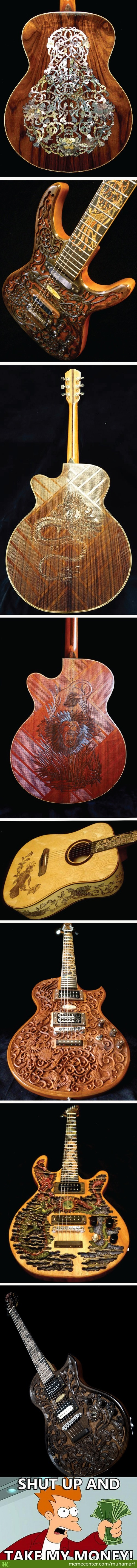 Guitar Made By Wayan Tuges