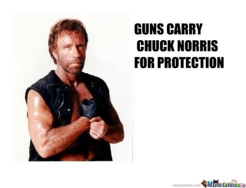 guns carry chuck norris