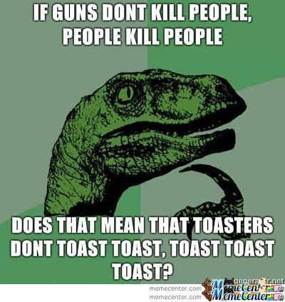 Guns, People, Toast