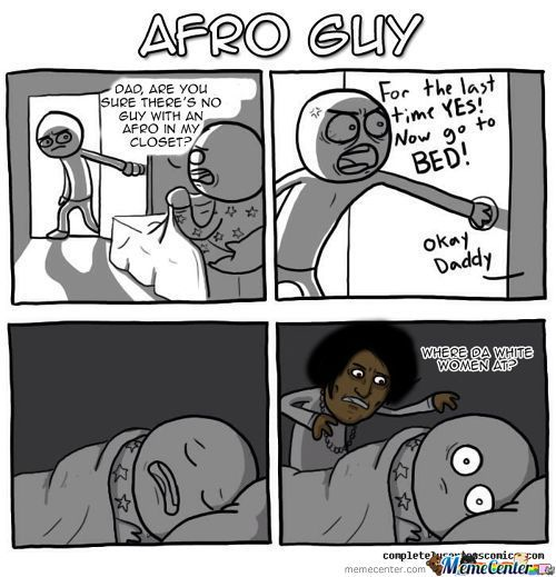 Guy With An Afro - Go To Bed