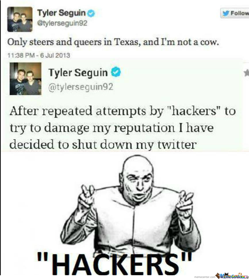 Hackers, Hackers Everywhere