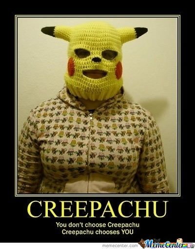 Haha, Just Found This... Creepachu