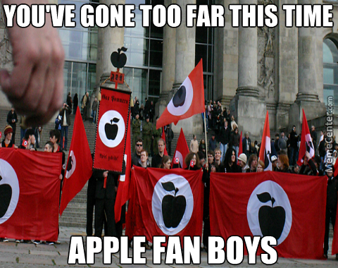 Hail Apple, Cut One Head Off, Two More Shall Take Its Place!