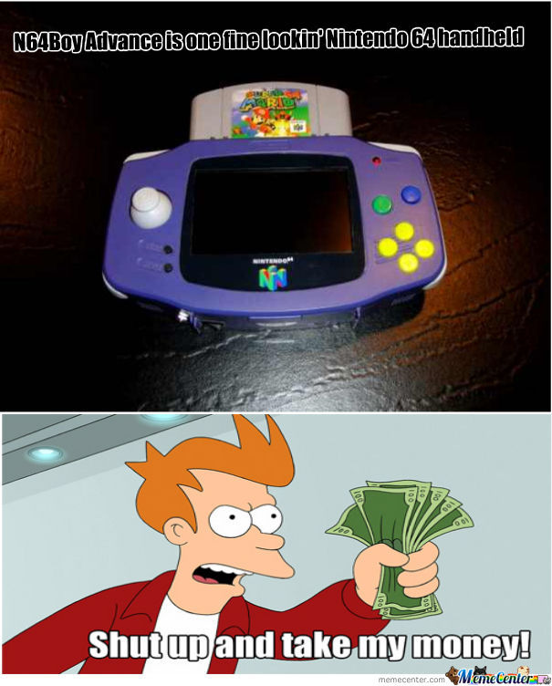 Hailrazor's N64Boy Advance