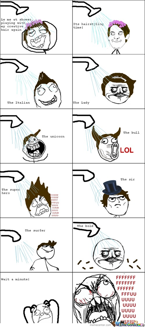 Hairstyle Rage