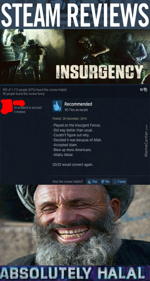 Halal Steam Reviews Of Multiplayer Fps Games