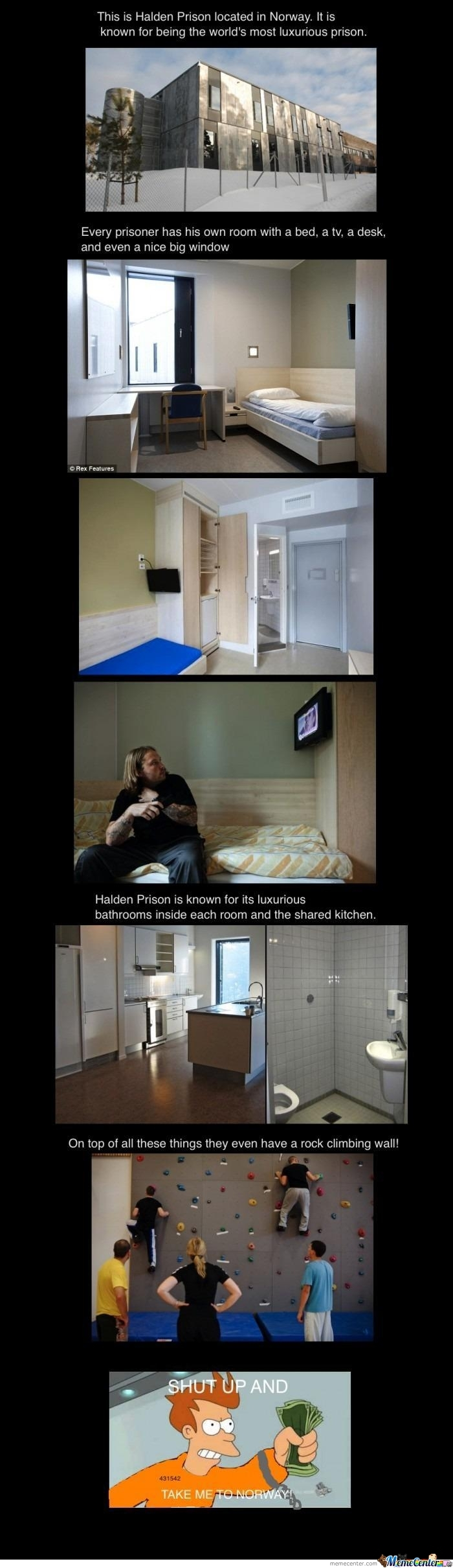 Halden Prison, Norway