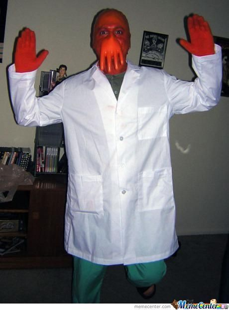 Halloween Costume? Why No Zoidberg?