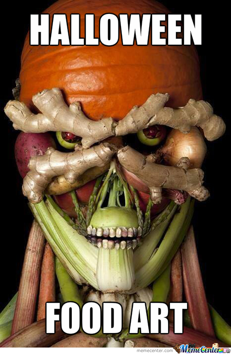 Halloween Food Art Lvl 100