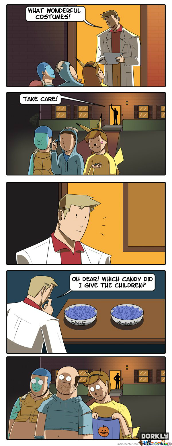 Halloween In The Pokemon World(All Credit To Dorkly)