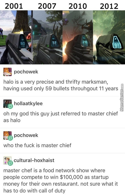 Halo Is A Cool Guy