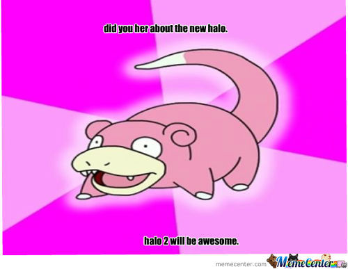 Halo Slowpoke
